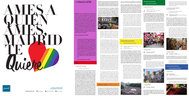 Folleto Madrid LGTBI 2019
