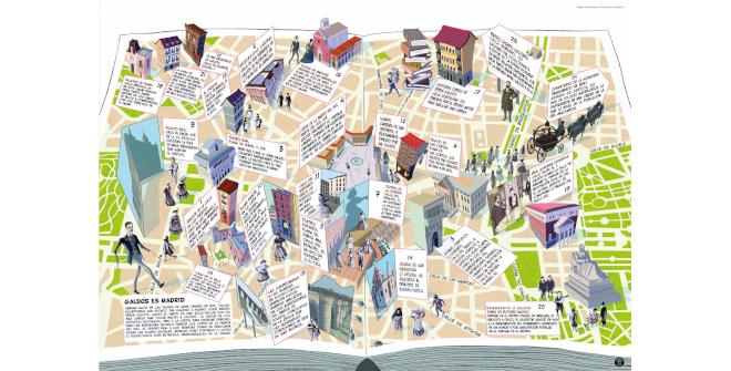 Mapa cultural ilustrado Galdós es Madrid (PDF)