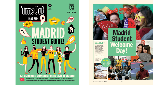 Guía del estudiante Madrid / Madrid Student Guide 2019 /2019 Time Out / Madrid Destino