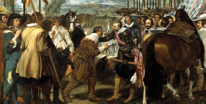 El Madrid de Alatriste - La rendición de Breda o  Las lanzas - Diego Velázquez