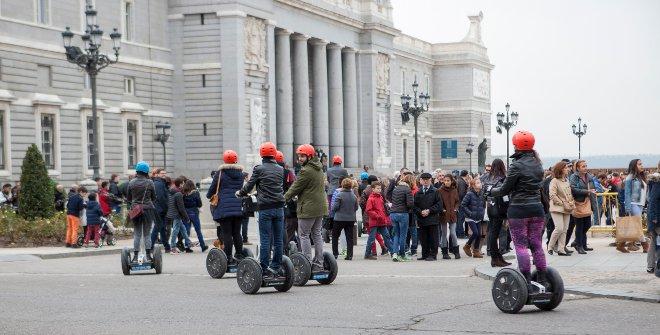 Madrid en patinete eléctrico
