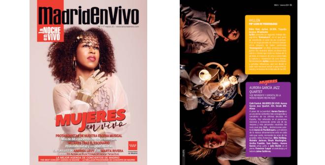 Revista Madrid en vivo marzo 2020