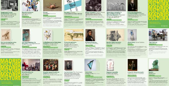 Folleto Madrid es cultura / Agenda de actividades septiembre-diciembre 2019