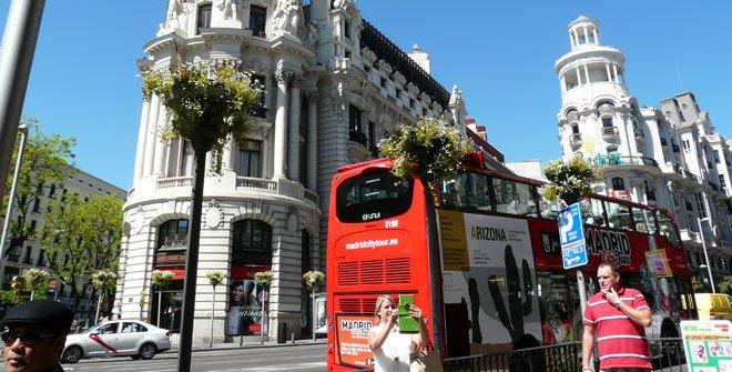 Madrid City Tour on madrid paseo, madrid park, madrid night life,