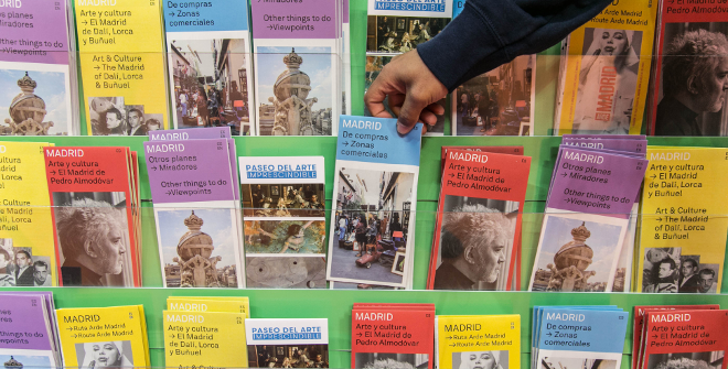 Mapas, guías y folletos de Madrid