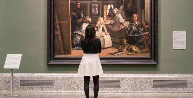 Las Meninas de Velázquez en el Museo del Prado