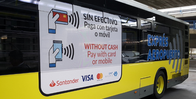 Bus exprés Aeropuerto de Madrid 20 febrero 2019