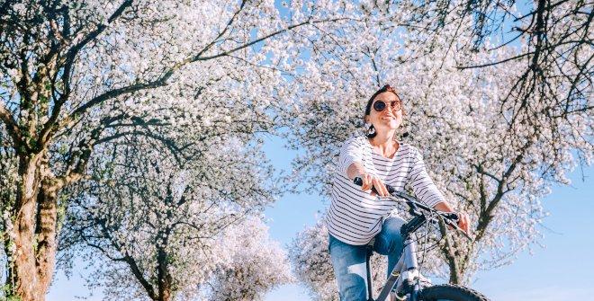 Planes al aire libre en primavera