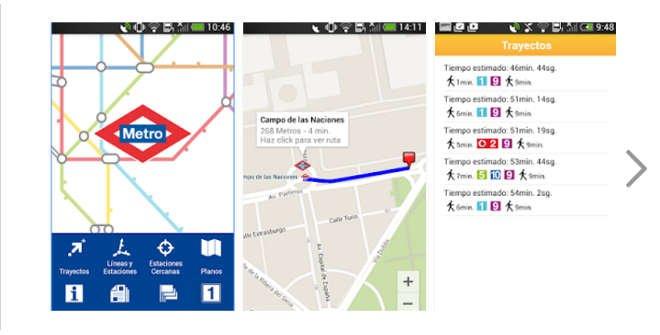 App Metro de Madrid