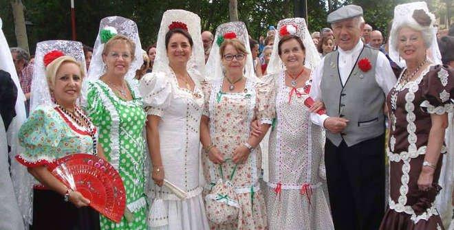 Chulap@s en las Fiestas de La Paloma