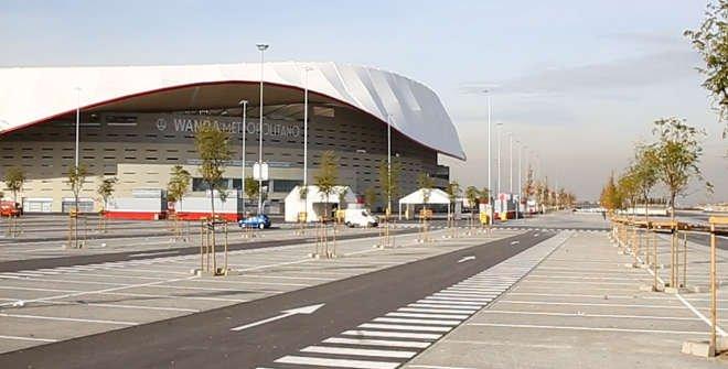 Aparcamiento disuasorio Estadio Metropolitano
