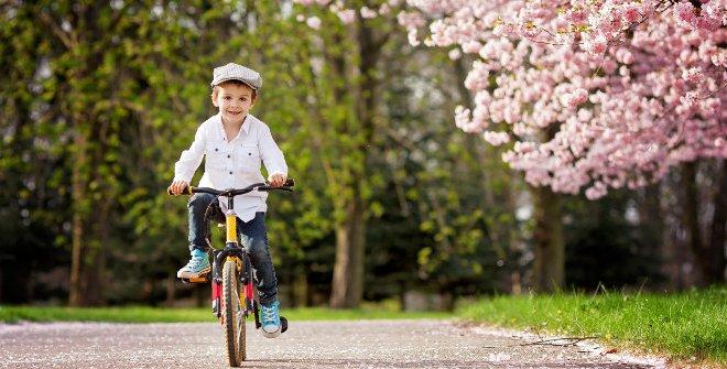 Primavera con niños