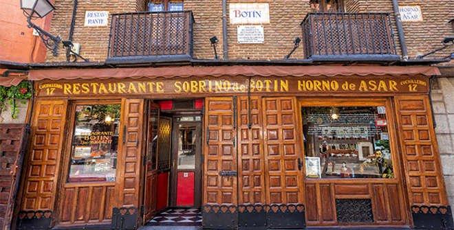 Restaurante Botín. © Álvaro López del Cerro. Madrid Destino