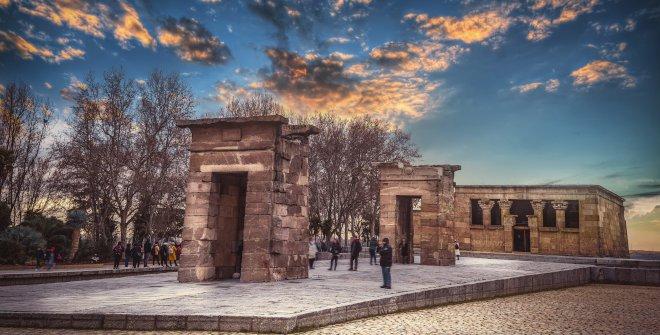 Templo de Debod - Qué debes ver en Madrid... cuando pase el COVID