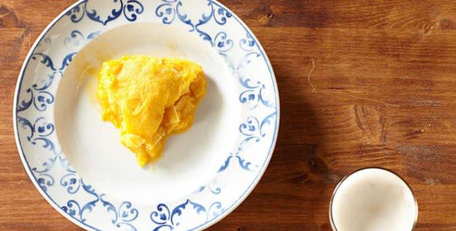 Tortilla de patata. Taberna Pedraza