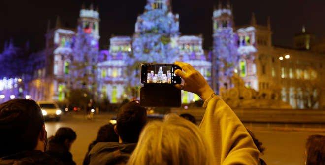 Videomapping ¡Feliz Navidad, Madrid!: La magia de tus deseos. @Álvaro López del Cerro