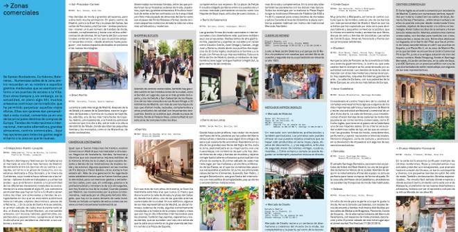 Guía De compras en Madrid. Zonas comerciales de Madrid