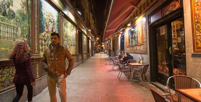 Zonas de marcha en Madrid