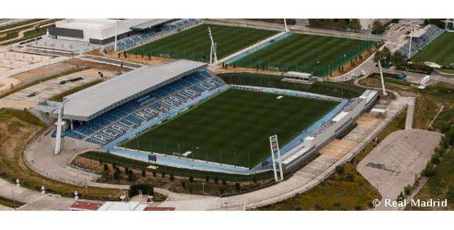 Estadio Alfredo Di Stefano. Ciudad Real Madrid.