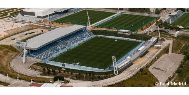 Estadio Alfredo Di Stefano. Ciudad Real Madrid.
