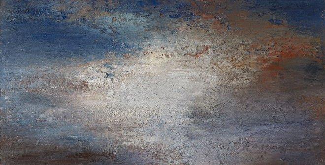 Alberto Reguera. Una noche luminosa, 2020. Técnica mixta sobre lienzo, 220 x 180 x 10 cm. Colección del artista