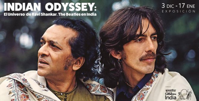 An Indian Odyssey: El universo Ravi Shankar. The Beatles in India