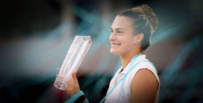 Aryna Sabalenka, campeona 2021 © Mutua Madrid Open 2021