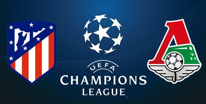 Atlético de Madrid - Lokomotiv Moskva (UEFA Champions League