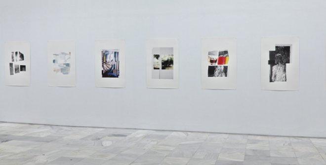 Tableau Vivant Azucena Vieites (Detalle de la exposición individual del mismo título en el Museo Reina Sofía. Madrid. 2013)