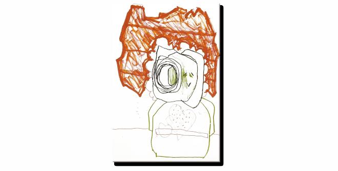 Azulejo 10.Luis Gordillo,Under My Skin