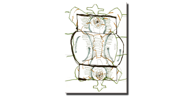 Azulejo 4.Luis Gordillo,Under My Skin
