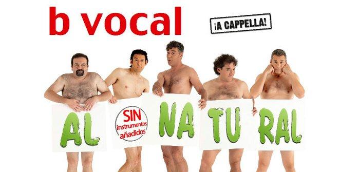 B vocal - Al natural, sin instrumentos añadidos