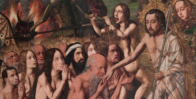 Bartolomé Bermejo, Resurrección y Descenso de Cristo al Limbo