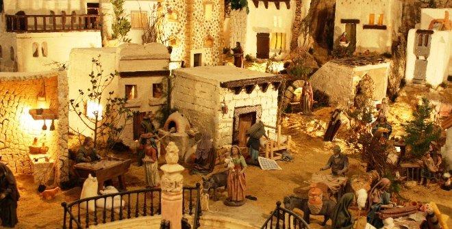 Belenismo, patrimonio material e inmaterial