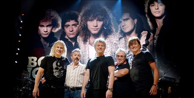Bon Jovi Photo by David Bergman