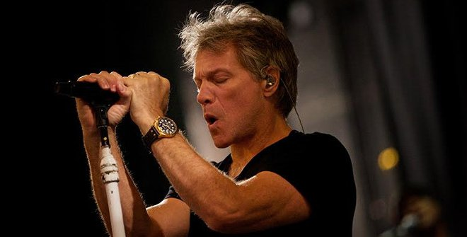 Bon Jovi Photo by David Bergman