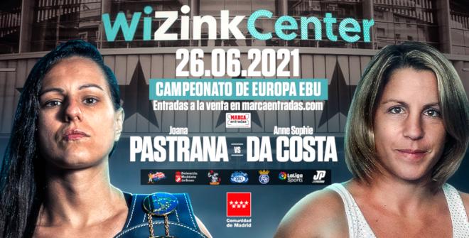 Campeonato de Europa EBU - Joana Pastrana vs. Anne Sophie Da Costa