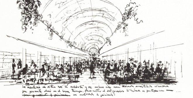 Julio Cano Lasso Dibujo. Tercera propuesta, Fuentelarreina