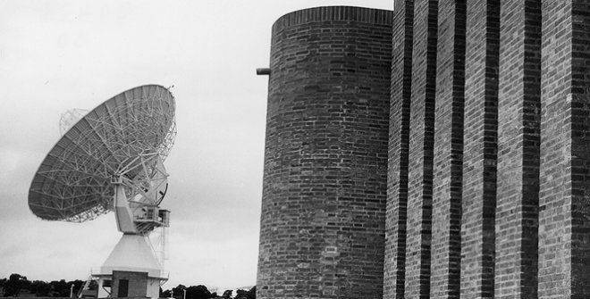 Estación de Comunicaciones por satélites de Buitrago. Madrid