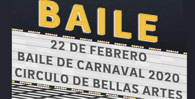 Baile de máscaras de Carnaval del Círculo de Bellas Artes