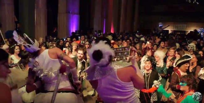 Baile de Disfraces del Círculo de Bellas Artes Carnaval Madrid 2018