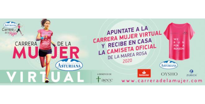 Carrera de la Mujer Virtual Madrid 2020