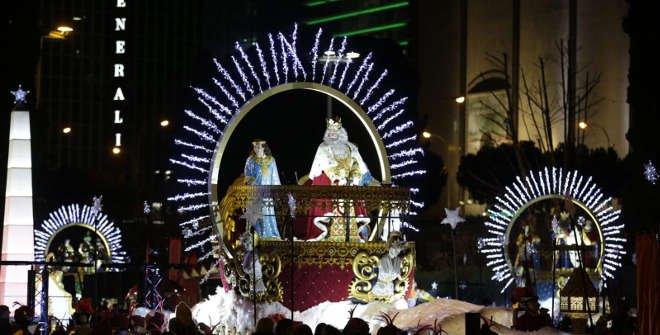 Cabalgata de Reyes Madrid 5 de enero 2020