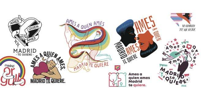 Carteles Madrid Orgullo 2018