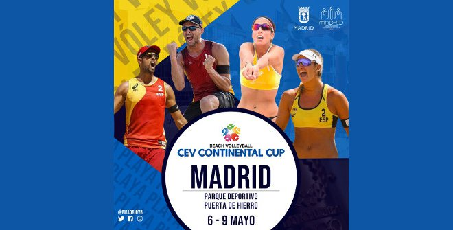 CEV Continental Cup Voley Madrid