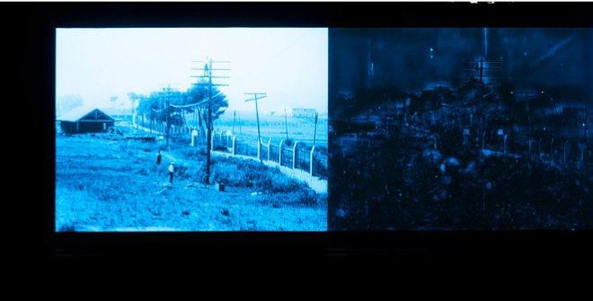 Proceso de coloreado con técnicas de IA de grabaciones delArchivo Histórico Telefónica (década de 1920). Simó-Serra Lab, Universidad de Waseba (Japón) © Color. El conocimiento de lo invisible. Espacio Fundación Telefónica, 2021