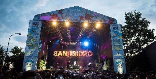 Ocer y Rade, Escenario principal Pradera San Isidro. Fiestas San Isidro 11 mayo 2018