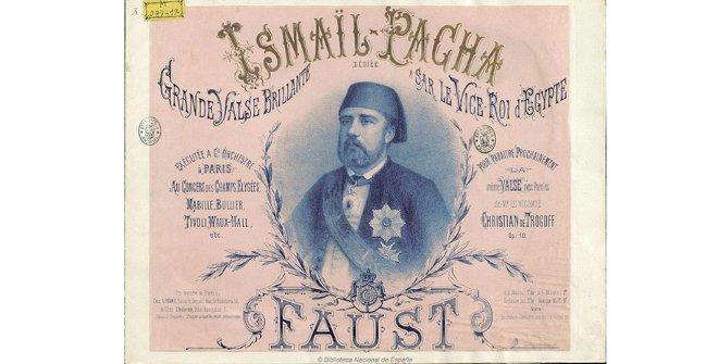 Partitura de Ismail Pacha: grande valse brillante, Carl Faust