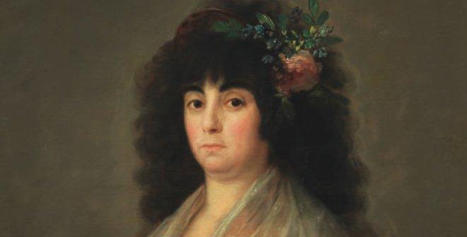 Francisco de Goya,La Tirana, 1794. Colección particular