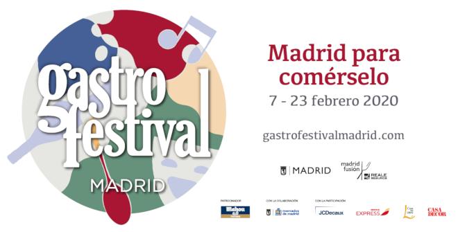 Gastrofestival 2020. Del 7 al 23 de febrero